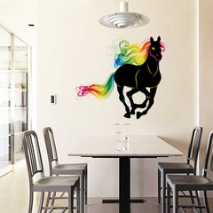 Colorful Horse Wall Decals