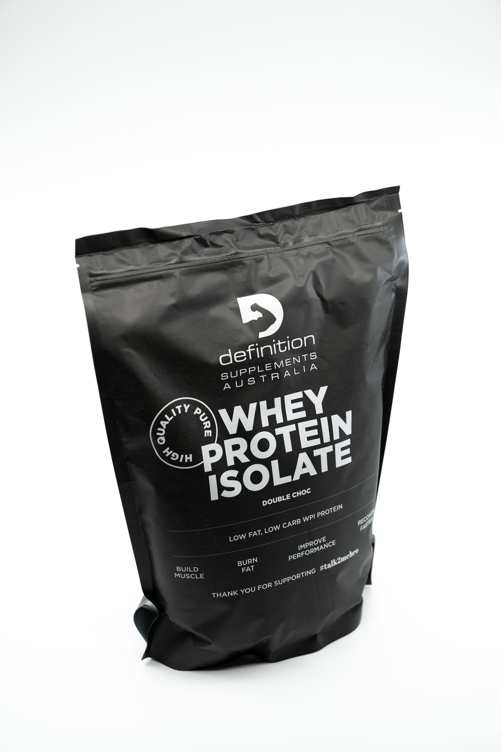 WHEY PROTEIN ISOLATE - DOUBLE CHOC