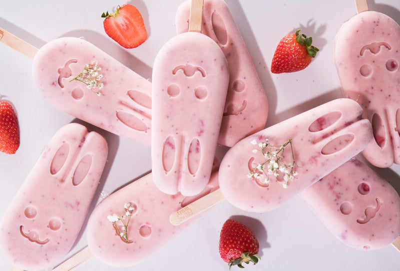 Berry Bunny Popsicles