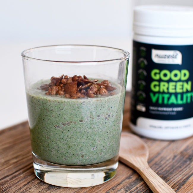 Good Green Vitality Chia Pudding