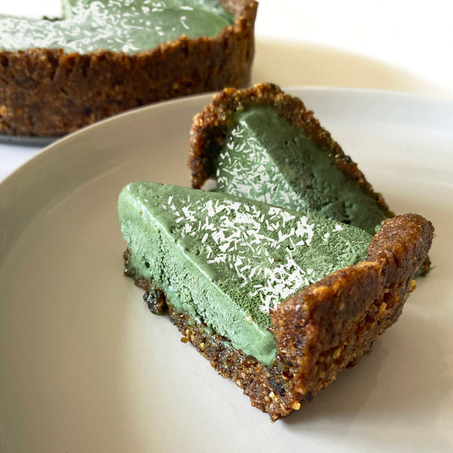 Good Green Vitality Cheesecake