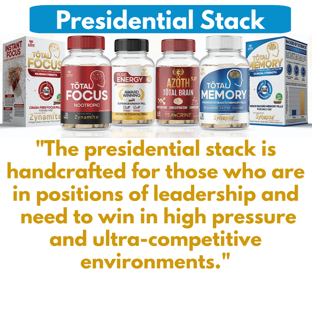 THE PRESIDENTIAL STACK (INTERNATIONAL ORDERS)