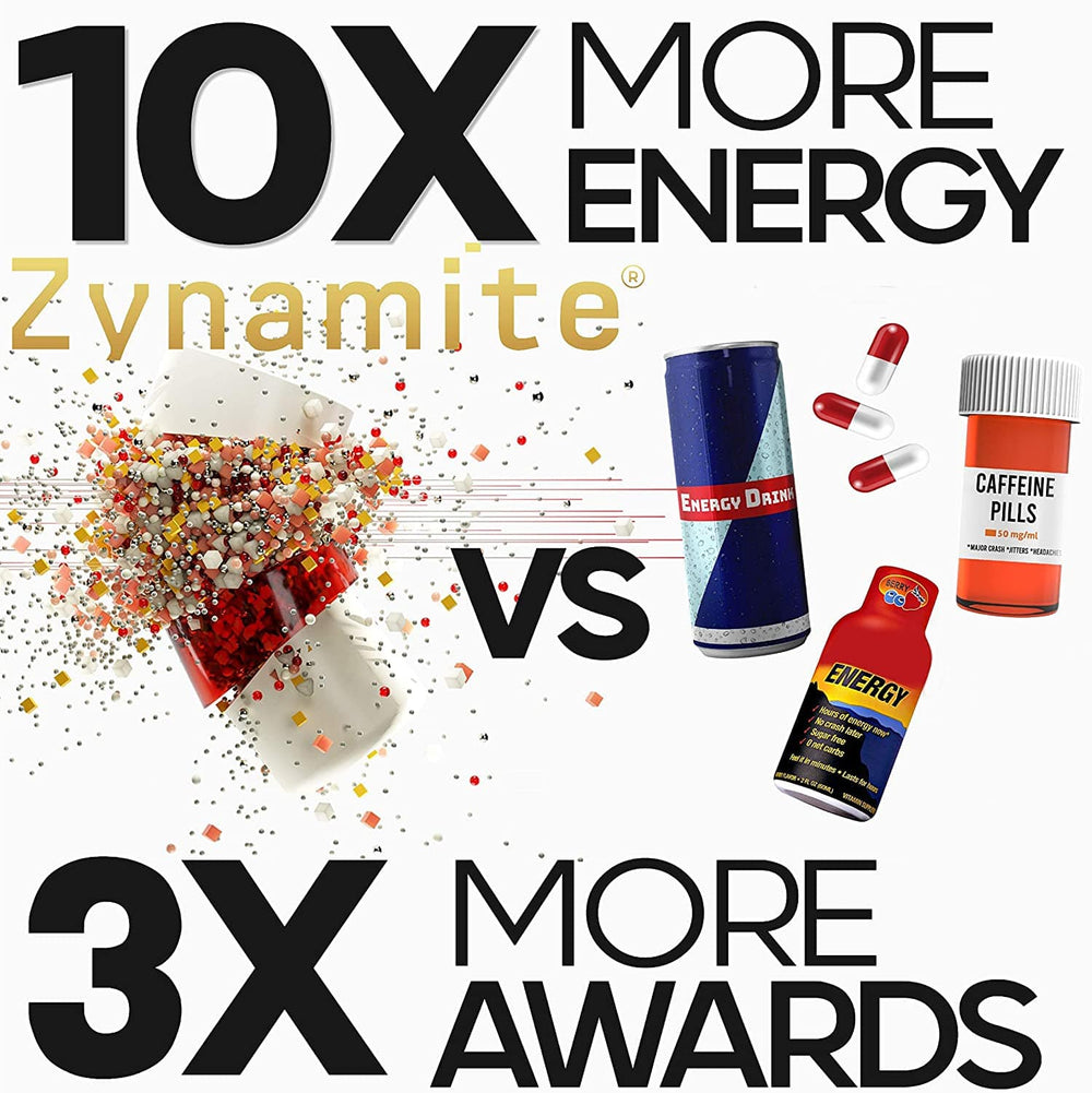 PURE ZYNAMITE® - Instant Crash-Free Energy