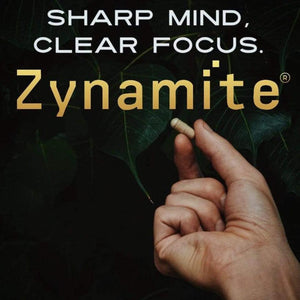 PURE ZYNAMITE®: FOR INSTANT CRASH FREE ENERGY