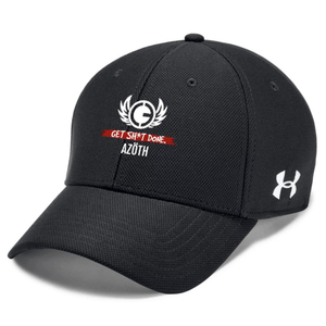 *TRIBE* AZOTH UA BLITZING TEAM CAP (BLACK/RED) - AZOTH