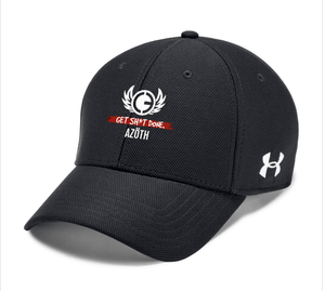 AZOTH UA BLITZING TEAM CAP (BLACK/RED) - AZOTH