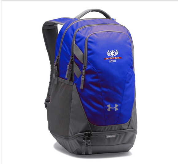 AZOTH UA TEAM HUSTLE 3.0 BACKPACK (BLUE/BLACK/RED/PINK) - AZOTH