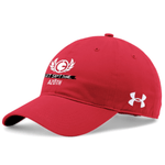 Load image into Gallery viewer, *TRIBE* UA CHINO ADJUSTABLE CAP (RED) - AZOTH