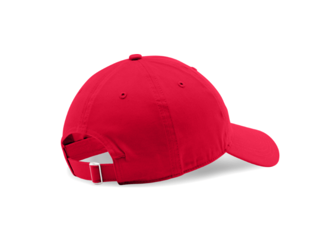*TRIBE* UA CHINO ADJUSTABLE CAP (RED)