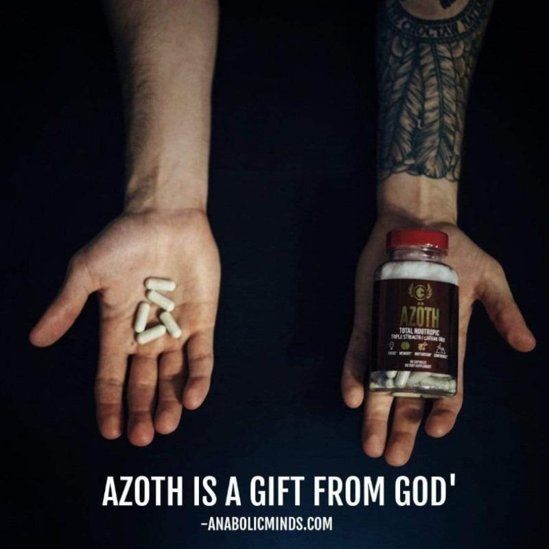 AZOTH 3.0 - TOTAL BRAIN HEALTH - Improve Confidence, Mood, Motivation, & Drive (INTERNATIONAL ORDERS)