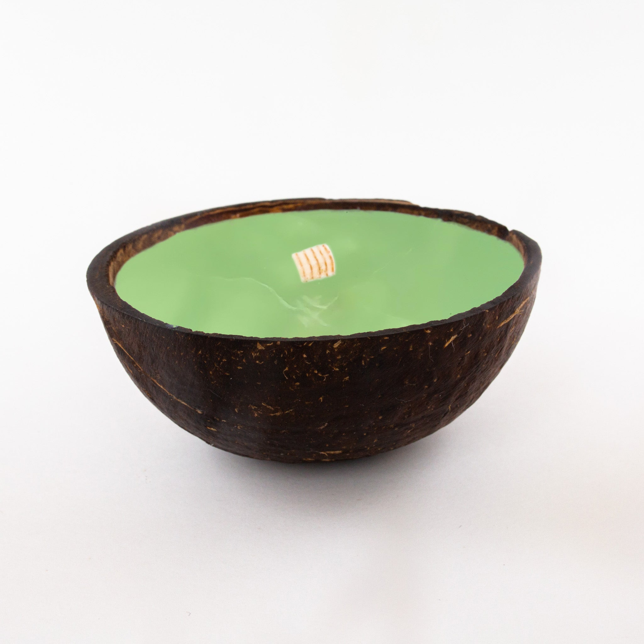 Half Coconut Candle - Coconut Lime