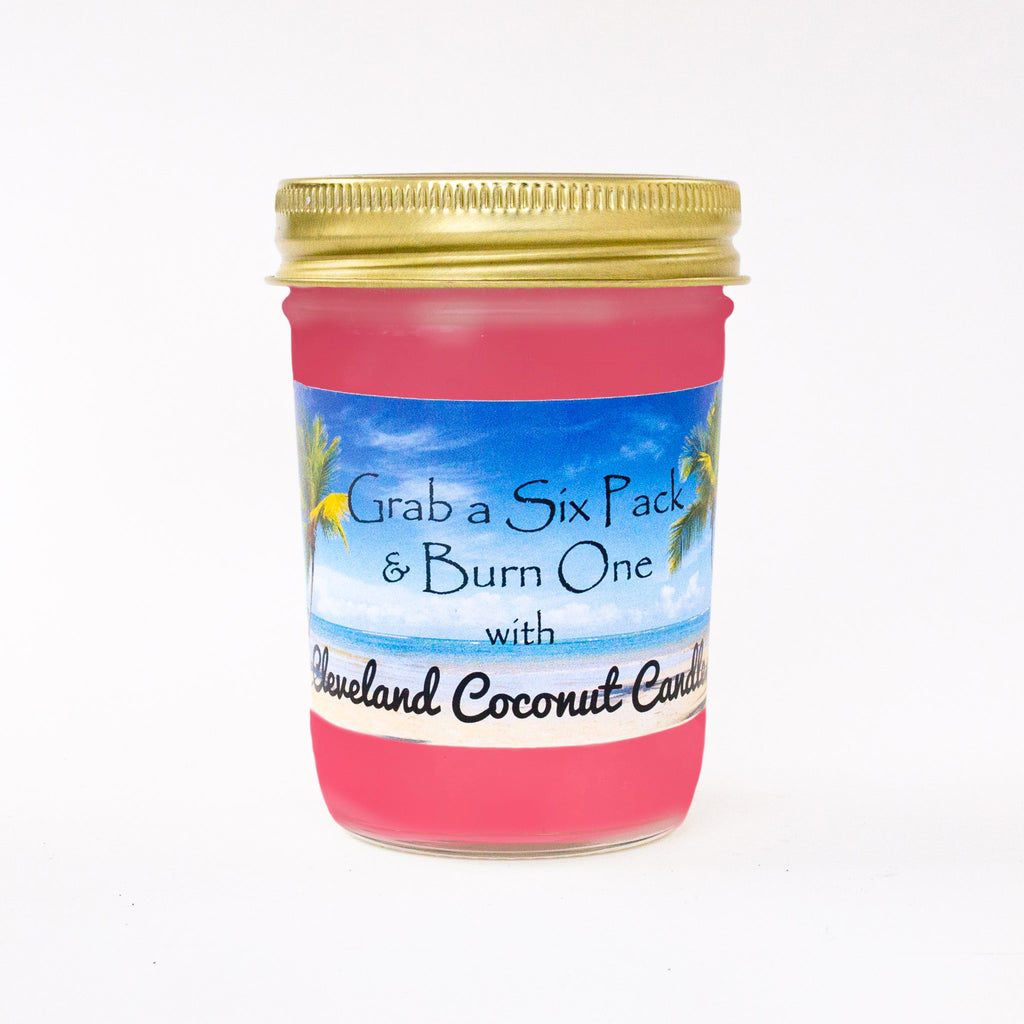 Jar Candle - Strawberry Guava