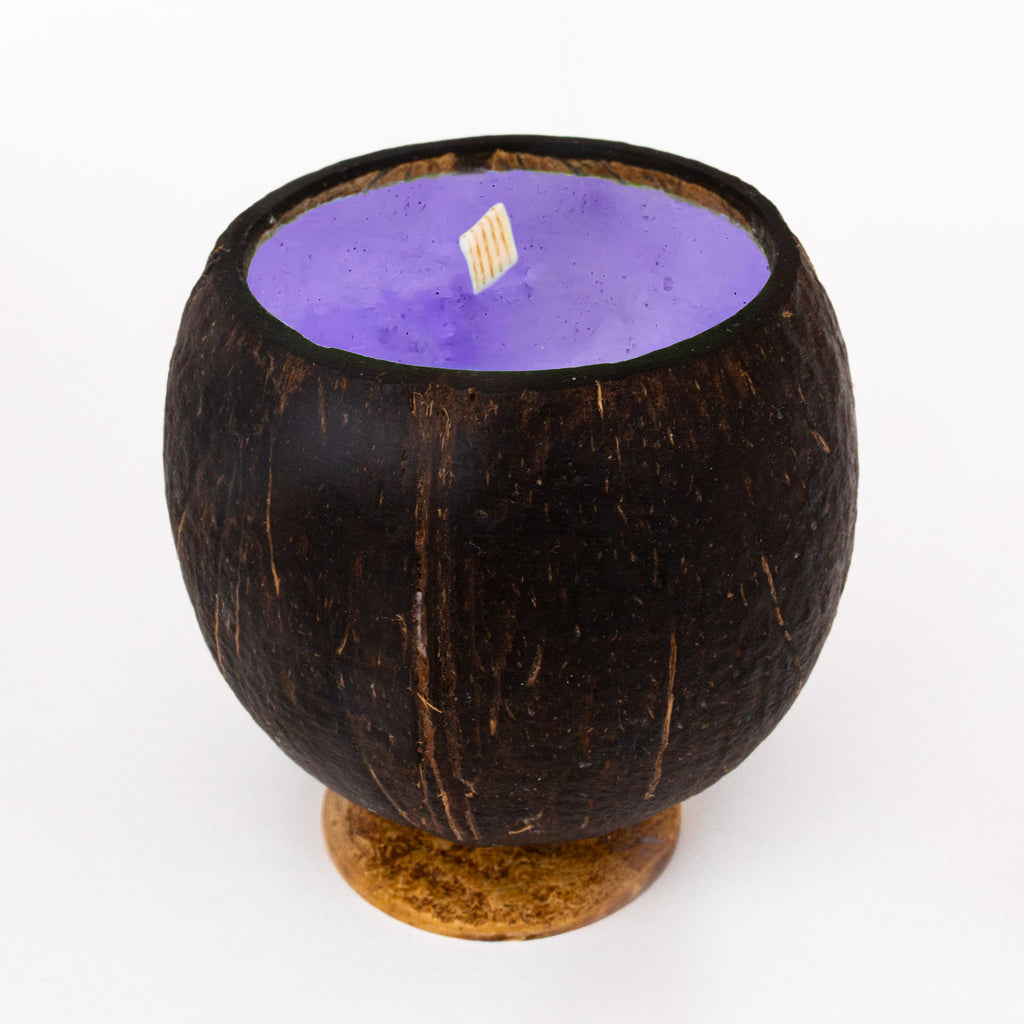 Whole Coconut Candle - Lavender