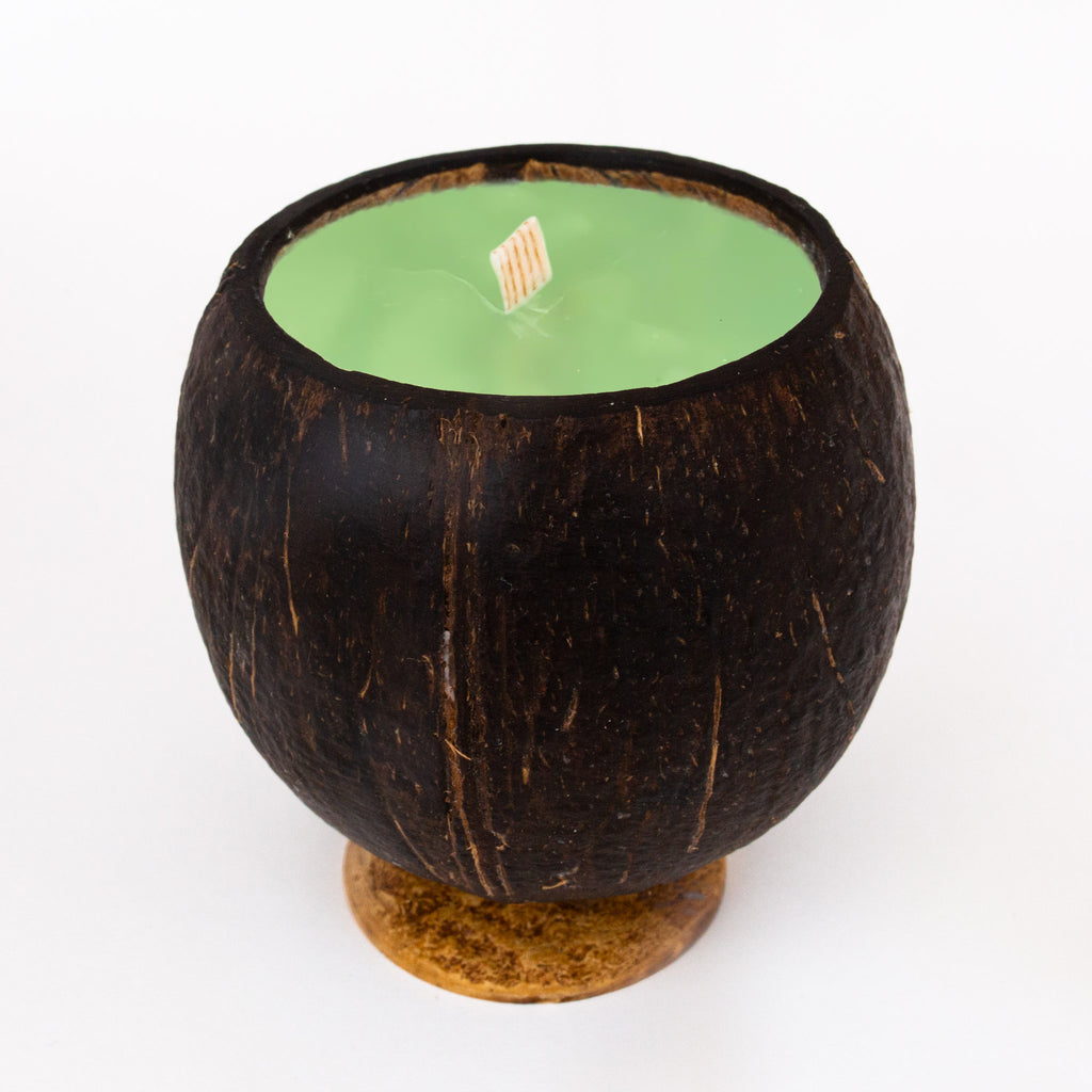 Whole Coconut Candle - Margarita