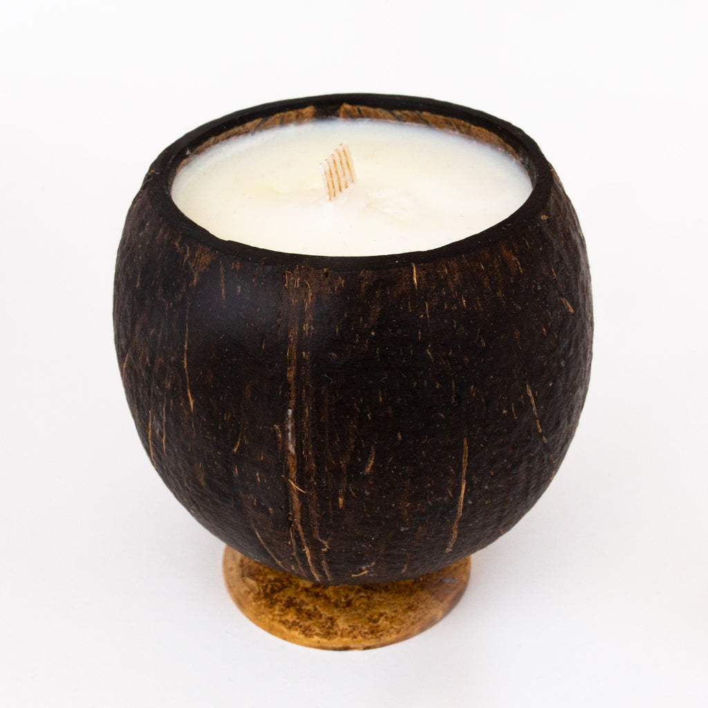 Whole Coconut Candle - Vanilla Chestnut
