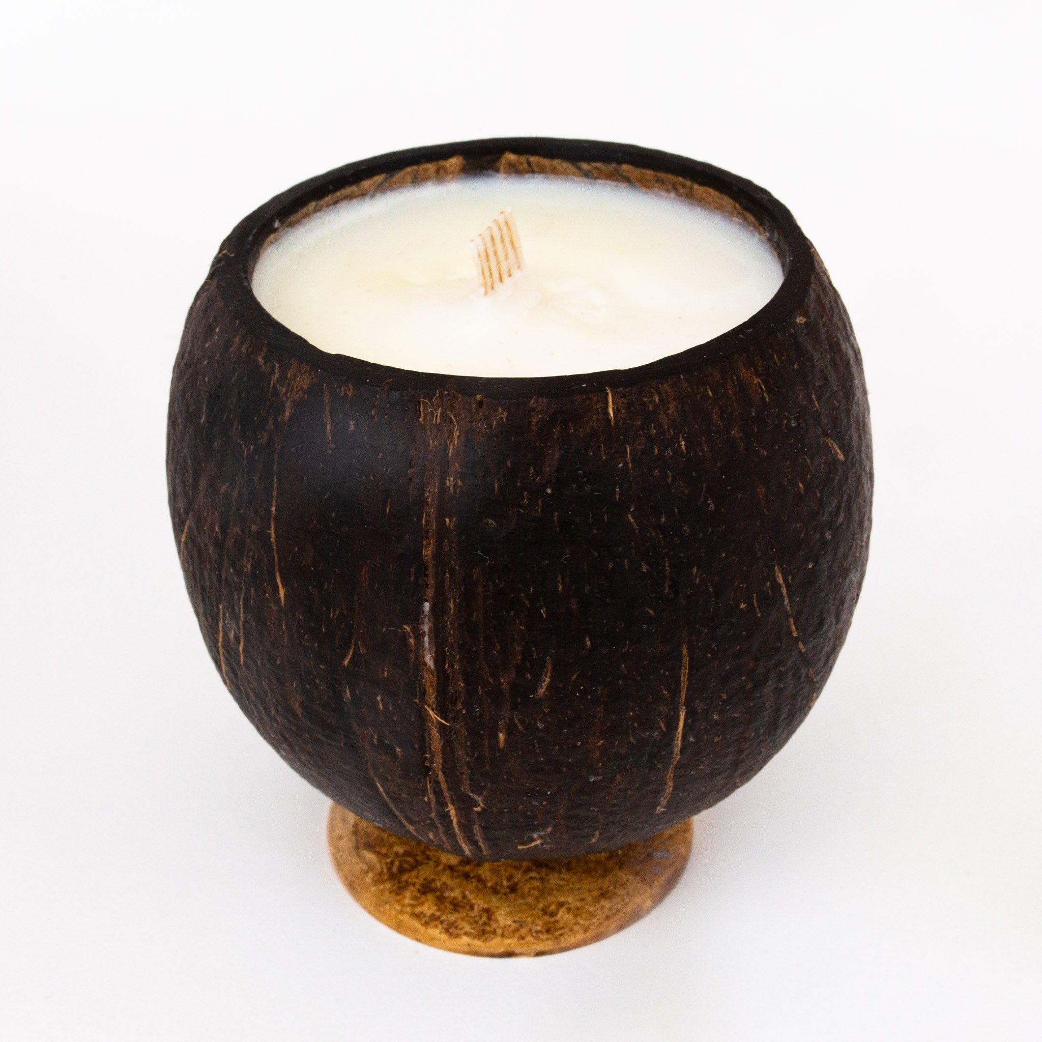 Whole Coconut Candle - Black Tuxedo