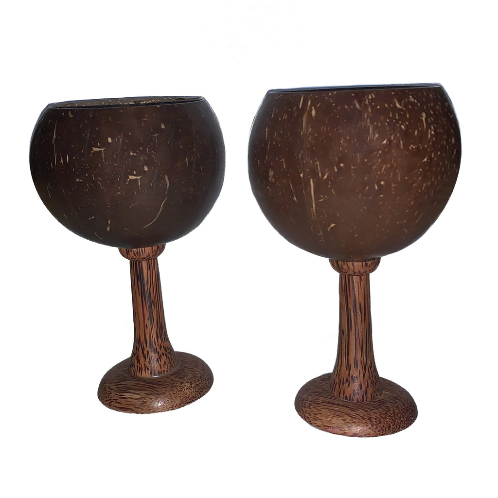 Coconut Wine Glasses