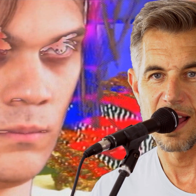 George Clanton and Nick Hexum Live Debut on Adult Swim's Fishcenter Live