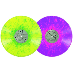George Clanton - 100% Electronica 2xLP [5 Year Anniversary Deluxe 140 Gram Splatter Edition]  (pre-order) - 100% Electronica
