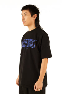 "100% Electronica ""New York"" Blue/Black Oversized™ Tee - SS20 - 100% Electronica"