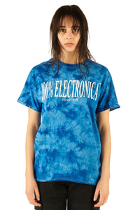 ESPRIT空想 200% Electronica Blue Tie Dye Logo Tee [Limited Edition] - SS20 - 100% Electronica