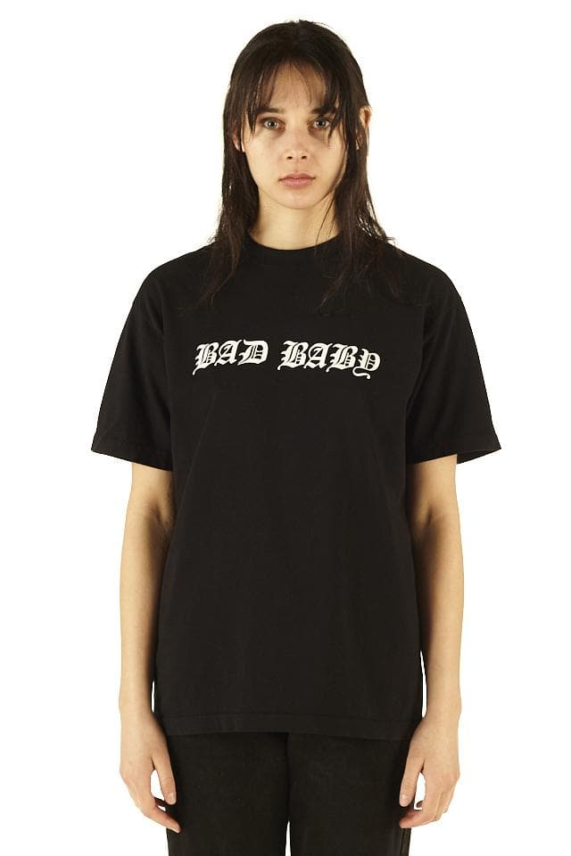 Negative Gemini Bad Baby Tee Black - SS20 - 100% Electronica
