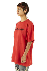 Negative Gemini Oversized™ Bad Baby Tee Red - SS20 - 100% Electronica