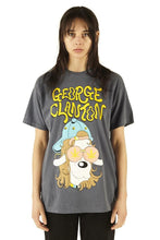 Load image into Gallery viewer, George Clanton Dog Tee - Denim - 100% Electronica