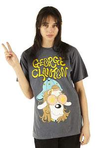 George Clanton Dog Tee - Denim - 100% Electronica