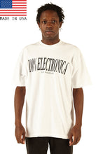 Load image into Gallery viewer, 100% Electronica White Oversized™ Tee - SS20 - 100% Electronica