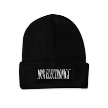 Load image into Gallery viewer, 100% Electronica Beanie - Black - FW20/21 - 100% Electronica