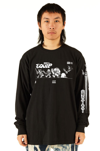 Equip - Long Sleeve Tour Tee - 100% Electronica