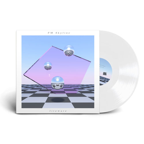 FM Skyline - Liteware LP on Translucent Vinyl - 100% Electronica