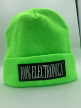 Load image into Gallery viewer, 100% Electronica x New Era® Neon Green Summer Beanie - SS20 - 100% Electronica