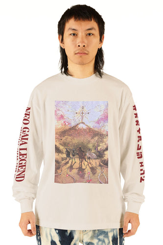 Neo Gaia Legend Ivory Long Sleeve Tee - SS20 - 100% Electronica