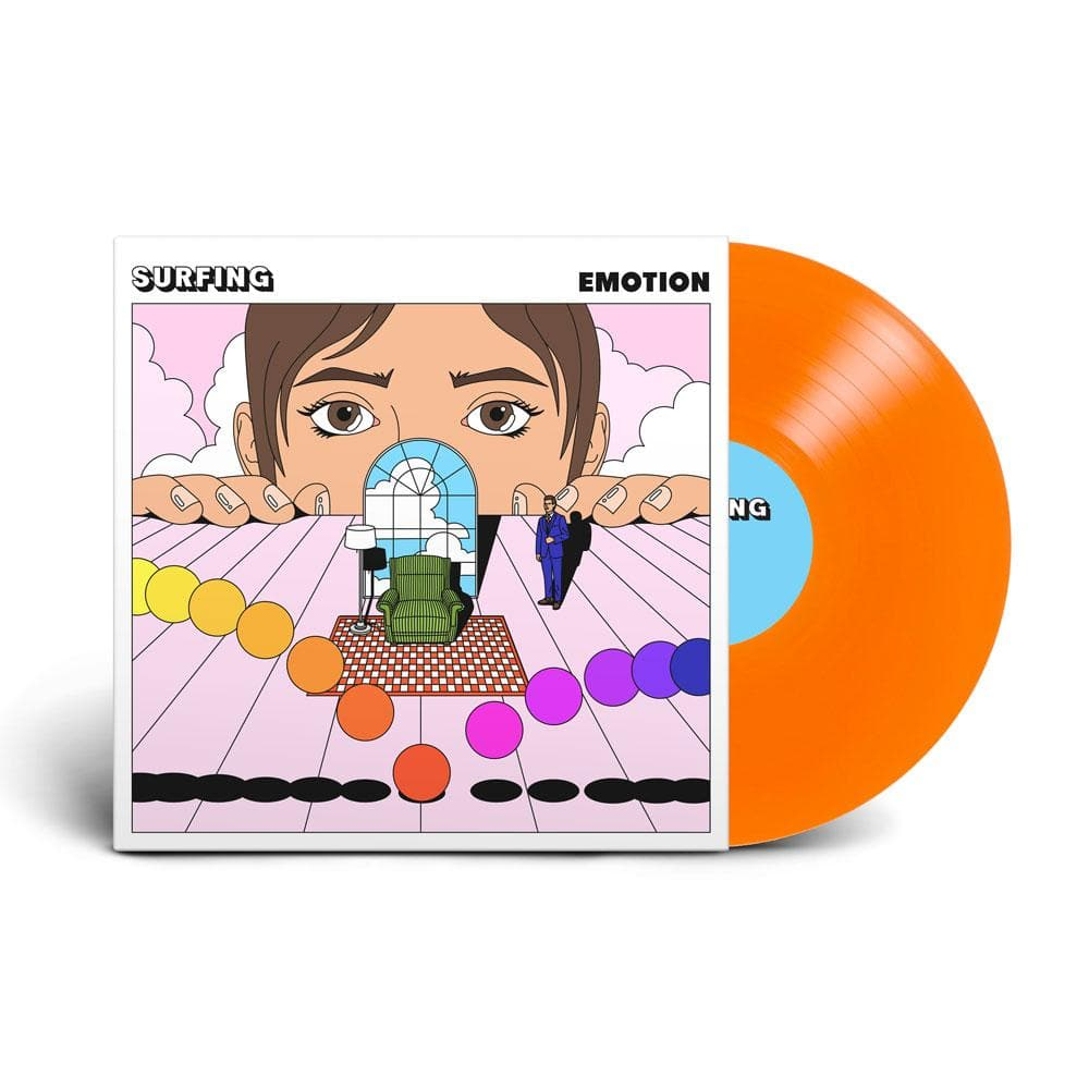 Emotion LP on Tangerine Vinyl by Surfing (1st Pressing) - 100% Electronica