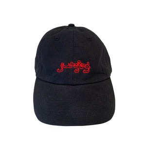 Surfing Logo Hat - Black - 100% Electronica