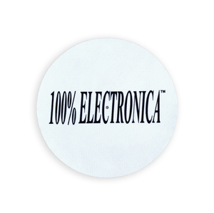 420% Electronica Reversible Record Slipmat - 100% Electronica