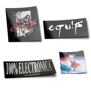 Equip Sticker Pack - 100% Electronica