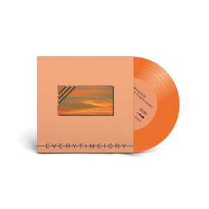 "Everytime I Cry 7"" on Tangerine Vinyl by Dan Mason - 100% Electronica"