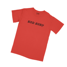 Load image into Gallery viewer, Negative Gemini Oversized Bad Baby Tee - Red - 100% Electronica