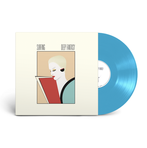 Surfing - Deep Fantasy LP [Final Edition] on Transparent Teal Vinyl - 100% Electronica