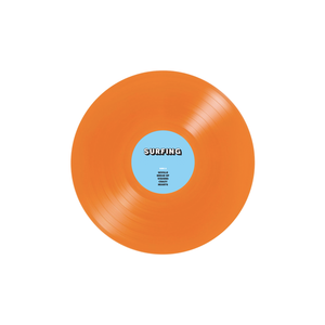 Surfing - Emotion LP on Tangerine Viny - 100% Electronica