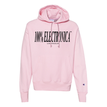 Load image into Gallery viewer, 100% Electronica Champion® Pink Logo Hoodie - FW19/20 - 100% Electronica
