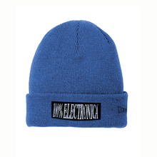 Load image into Gallery viewer, 100% Electronica x New Era® Blue Speckled Beanie - SS20 - 100% Electronica