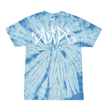 Load image into Gallery viewer, Slide Tee - Vapor Blue® Tie Dye - SS20 - 100% Electronica