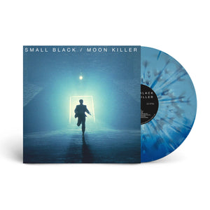 "Small Black - Moon Killer LP (Deluxe Edition) on Blue Swirl® Vinyl + Tampa 7"" - 100% Electronica"
