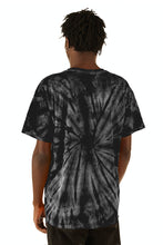 Load image into Gallery viewer, ESPRIT空想 200% Black Tie-Dye Logo Tee - FW20/21 - 100% Electronica
