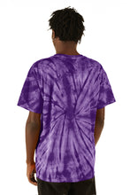 Load image into Gallery viewer, ESPRIT空想 200% Purple Tie-Dye Logo Tee - FW20/21 - 100% Electronica