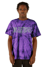 Load image into Gallery viewer, ESPRIT空想 200% Purple Tie-Dye Logo Tee - SS20 - 100% Electronica